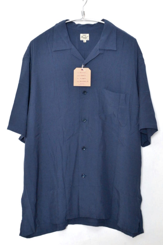 2018SS/ RAYON SUKA SHIRT レーヨン オープンカラー スカシャツ