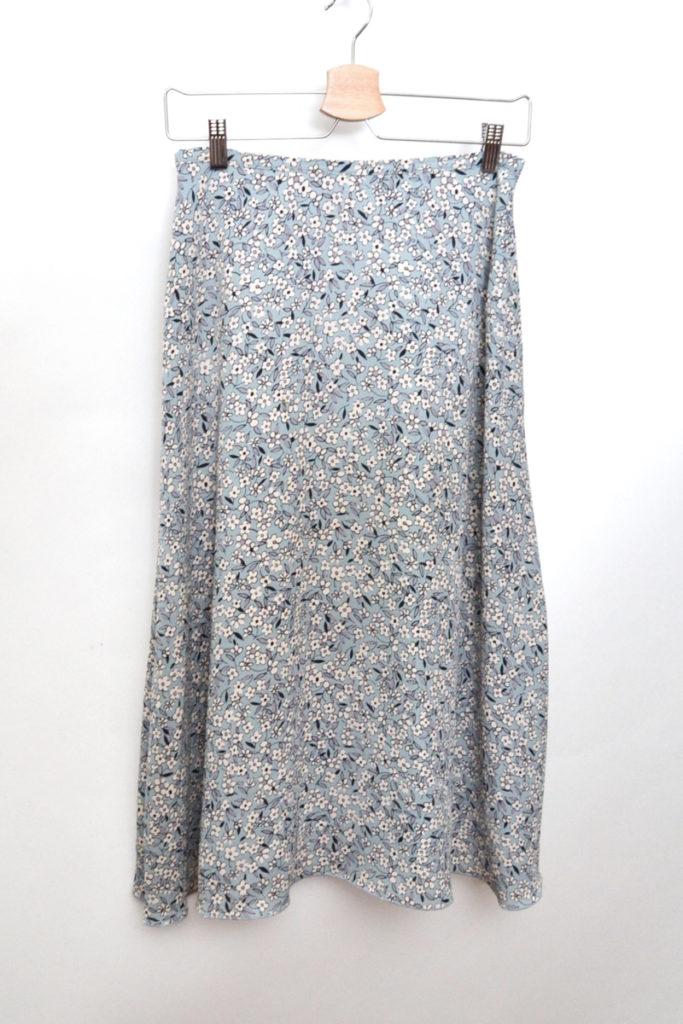2019SS/ フラワープリントフレアースカート