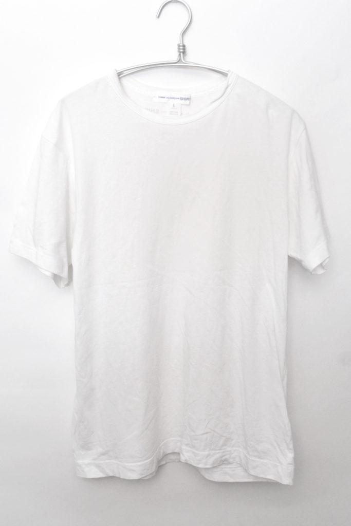 バックロゴ プレーンTシャツ 無地