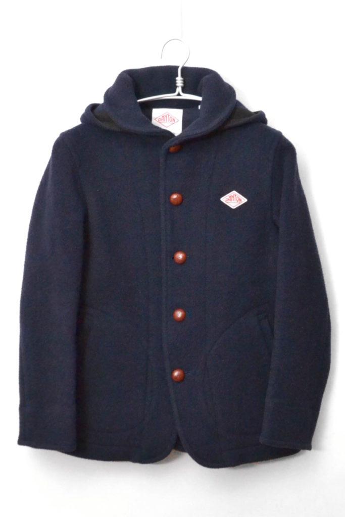 2015AW/ ウールモッサ フード付きジャケット
