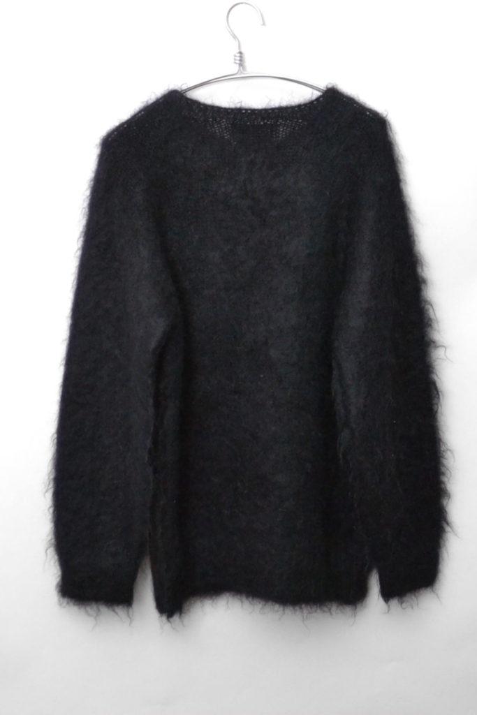 モヘア混紡 クルーネックプルオーバーニット セーターの買取実績画像