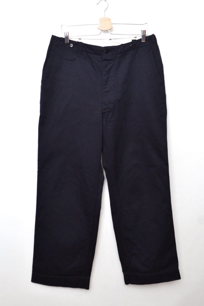 2018/ Wide Officer Trousers ワイドオフィサートラウザーズ パンツの買取実績画像