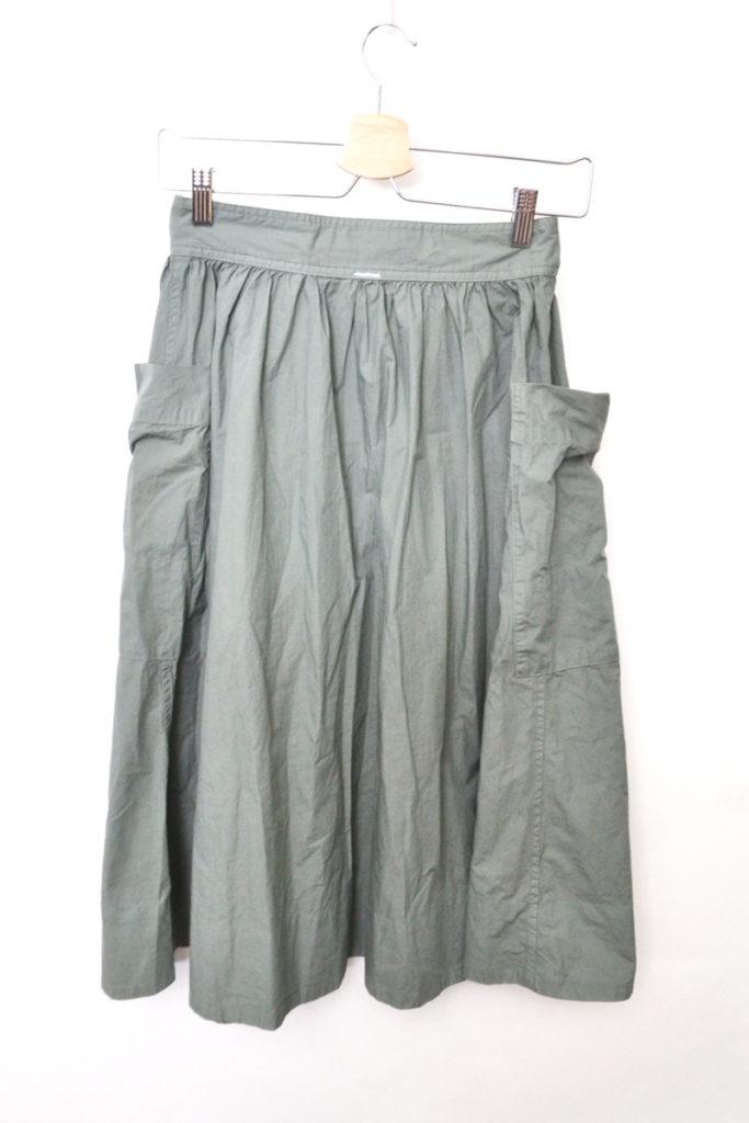 コットンポプリン サイドポケット ギャザースカートの買取実績画像