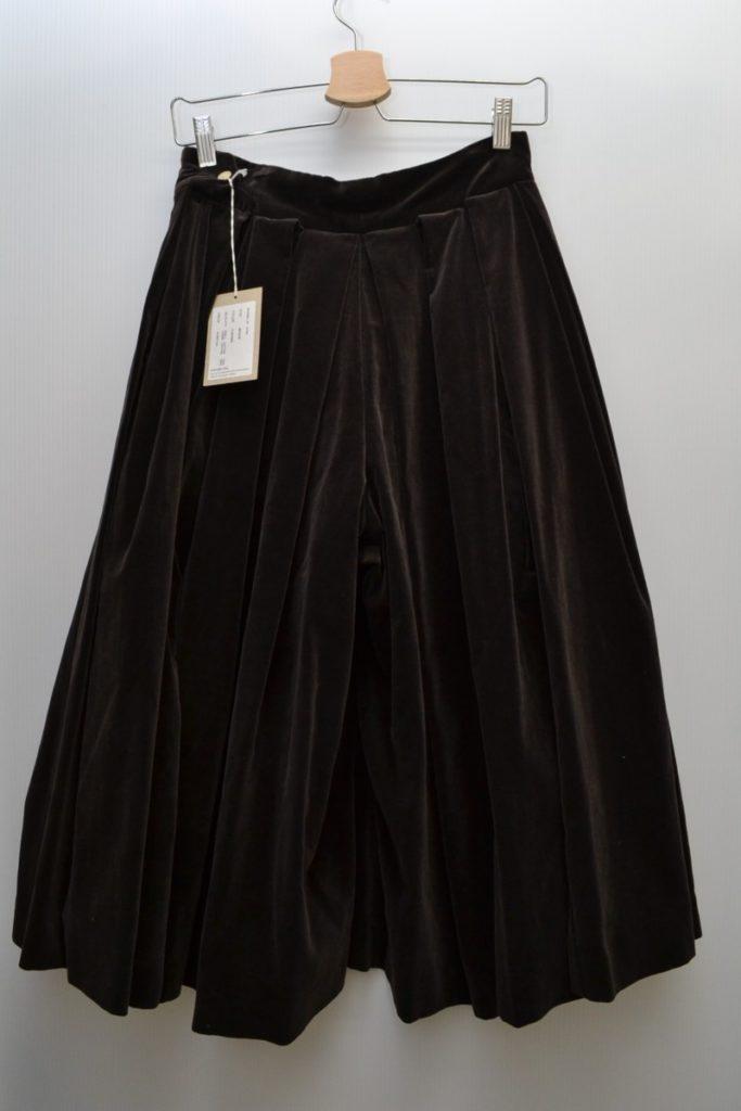 big tuck culottes コットンベロア ビッグタックキュロット パンツの買取実績画像