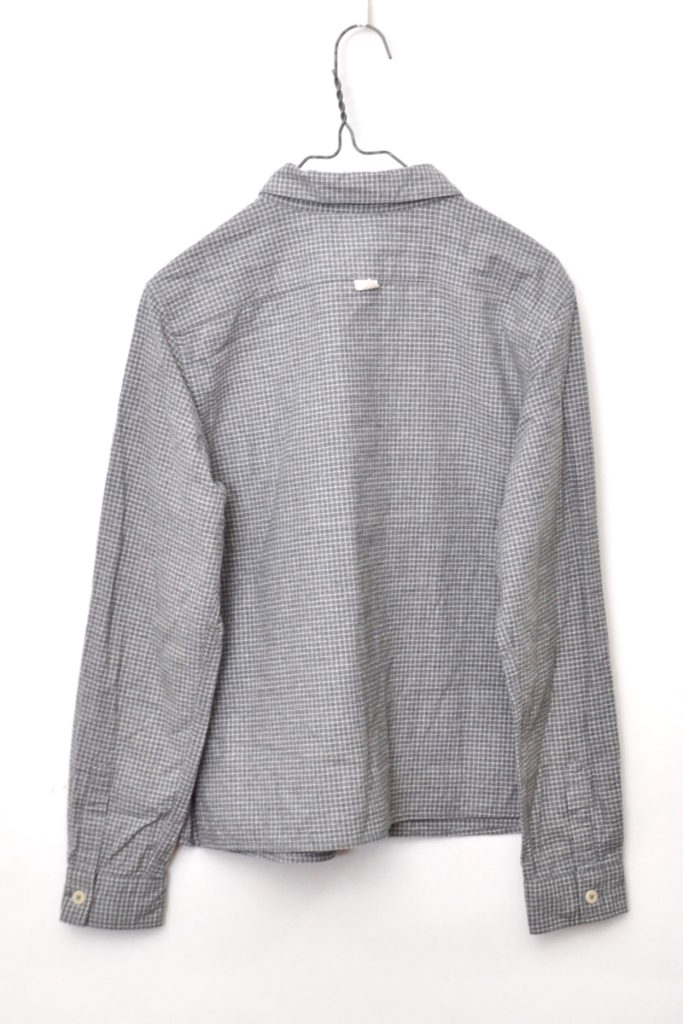 2014/ フランネル チェック ボックスシャツの買取実績画像