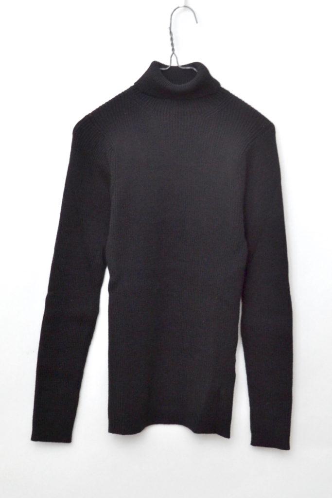 AD1991/ リブニット タートルネックセーター