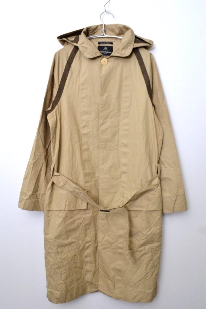 AUTHENTIC LINE PO COAT TAPED ベンタイルコットン コート