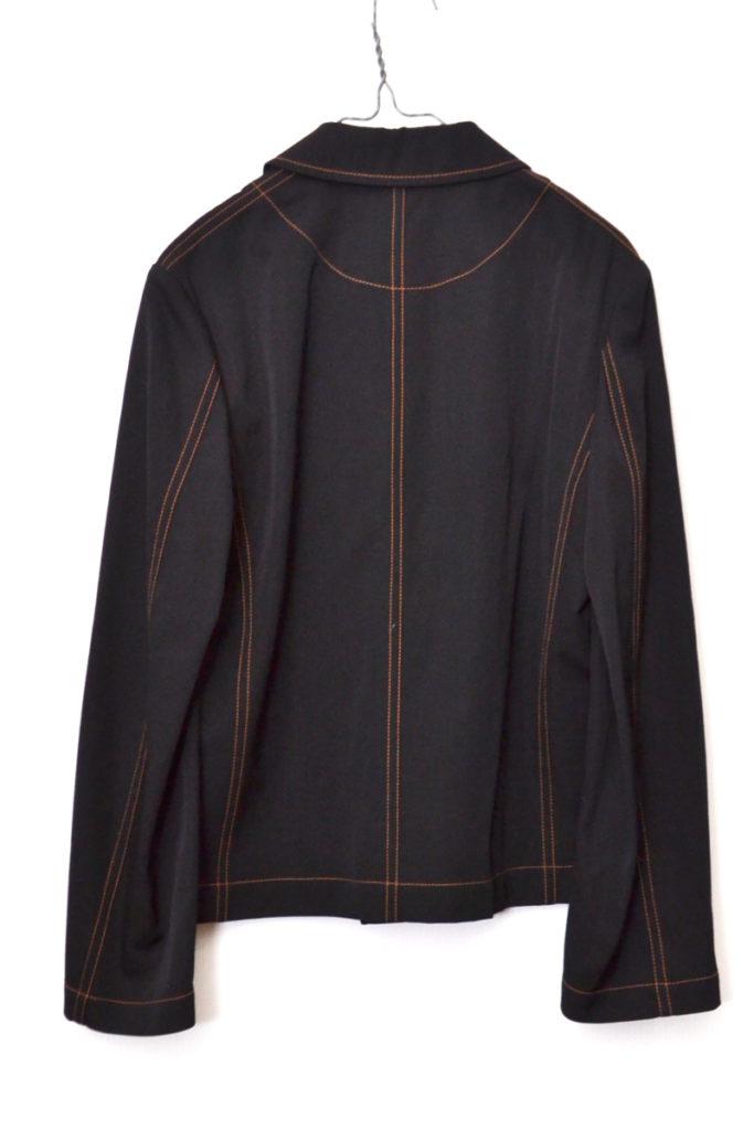 AD2000/ ウールギャバジン 丸襟 シャツジャケットの買取実績画像