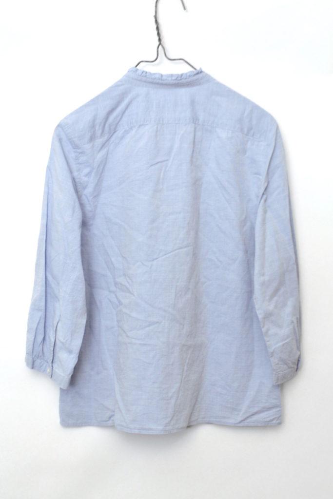 フリルカラー 七分袖シャツの買取実績画像