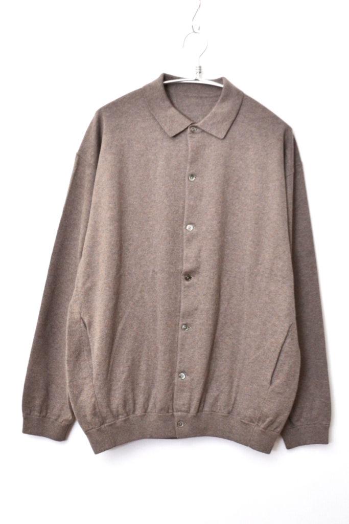 2019AW/ KNIT SHIRTS L/S ニットシャツ セーター