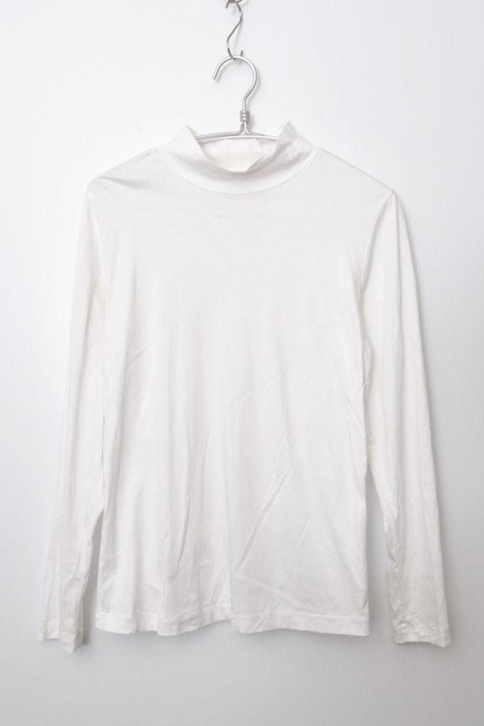 DRESS SERIBU MOCK ドレス モックネック 背リブカットソー