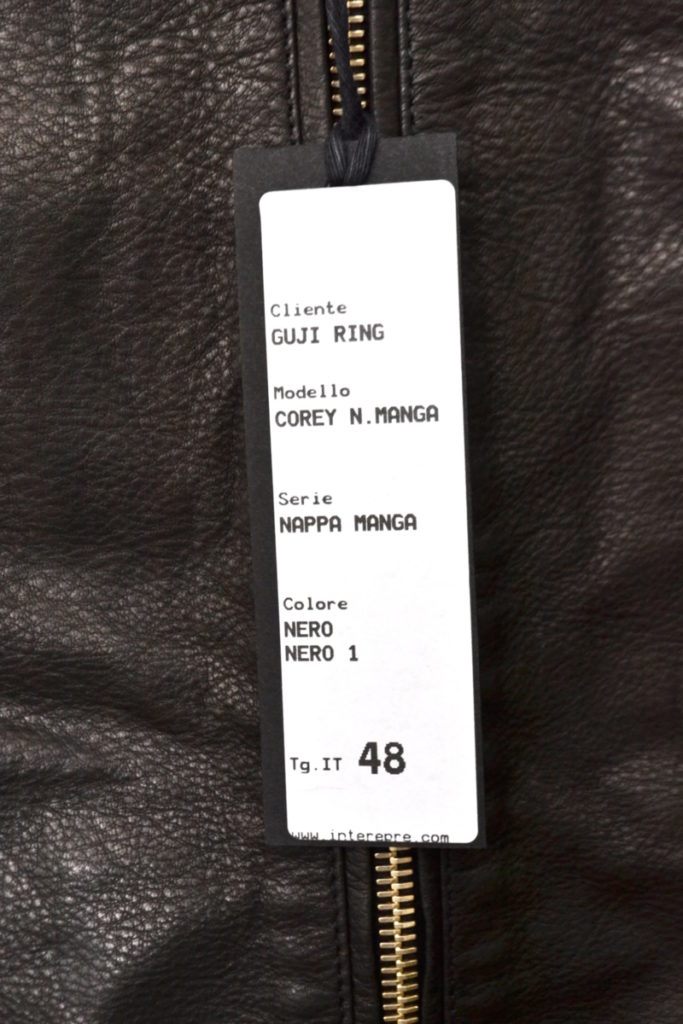 × giab's ARCHIVIO◆COREY ナッパマンガ×シャカヌメ ライダースジャケットの買取実績画像