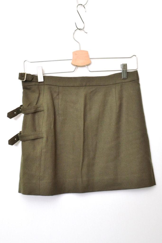 ウールプリント ラップスカート 腰巻 オーバースカートの買取実績画像