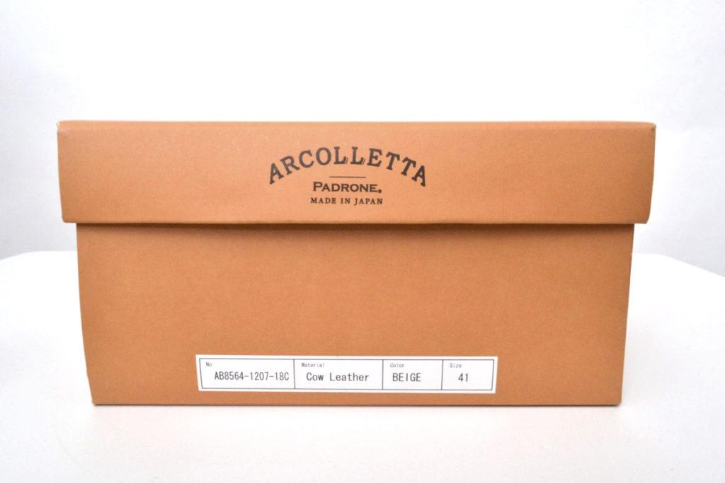 ARCOLLETTA PADRONE × BEAMS ◆ 2018AW/ BCK GORAE BOOTS バックゴアブーツの買取実績画像