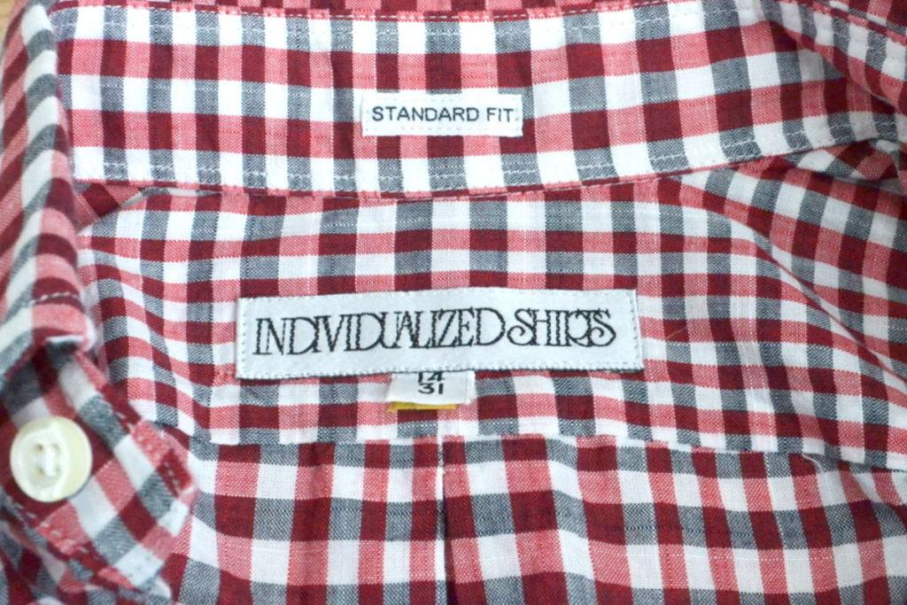 STANDARD FIT ギンガムチェックBDシャツの買取実績画像