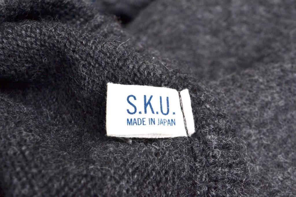 2015AW/SKU Shaker Ragg Sweater 起毛ニットセーターの買取実績画像