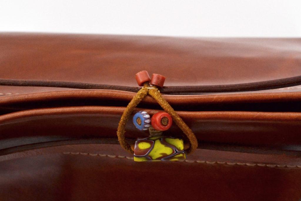 FRANBOISE スウェード レザー 切替 ハンドバッグの買取実績画像