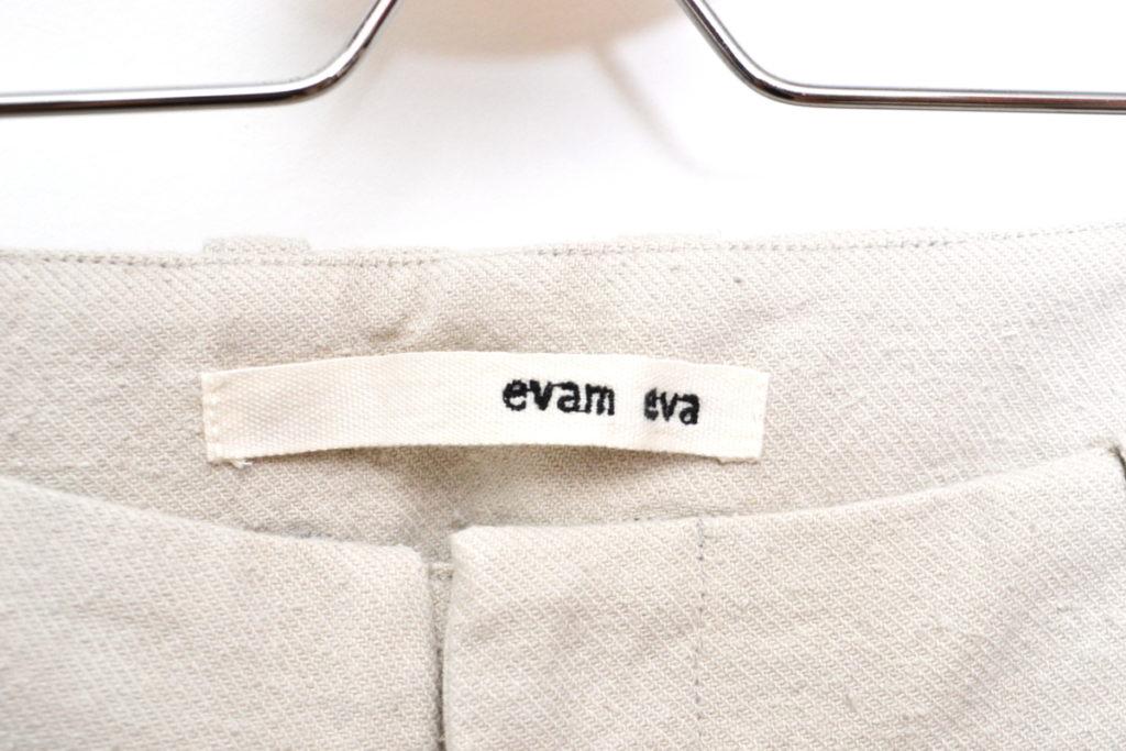 2016aw/ cotton silk tuck pants コットンシルク タックパンツの買取実績画像