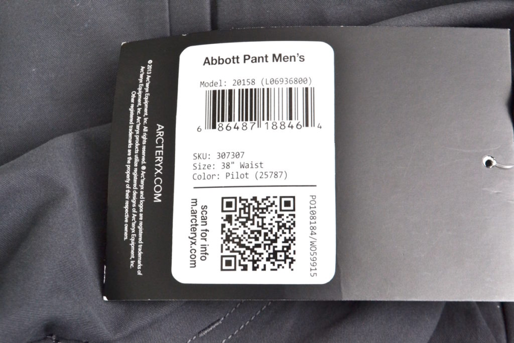 ABBOTT PANT アボット パンツの買取実績画像