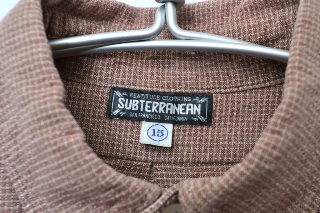 Frisco 1950~1960s SUBTERRANEANS STYLE B.D. COLLAR SHIRT BDシャツの買取実績画像