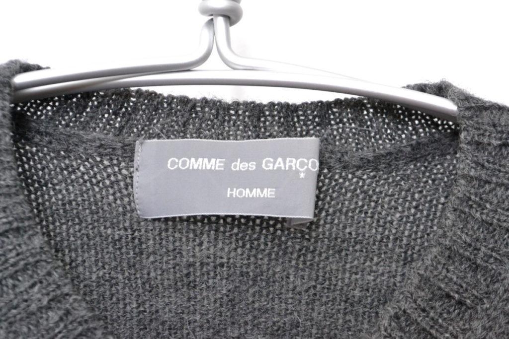 AD1997/ ウールVネック 柄ずらしニットセーターの買取実績画像