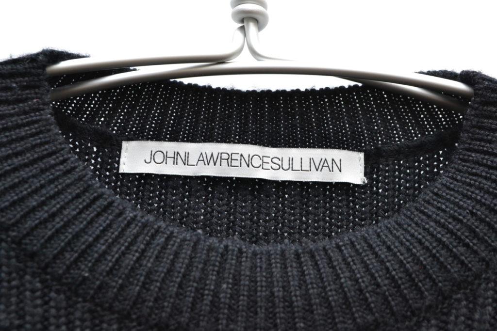 編み柄切替 クルーネックニット セーターの買取実績画像