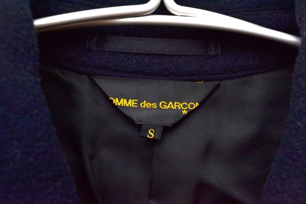 AD2006 2006AW/ 裾フレア メルトンダブルコートの買取実績画像