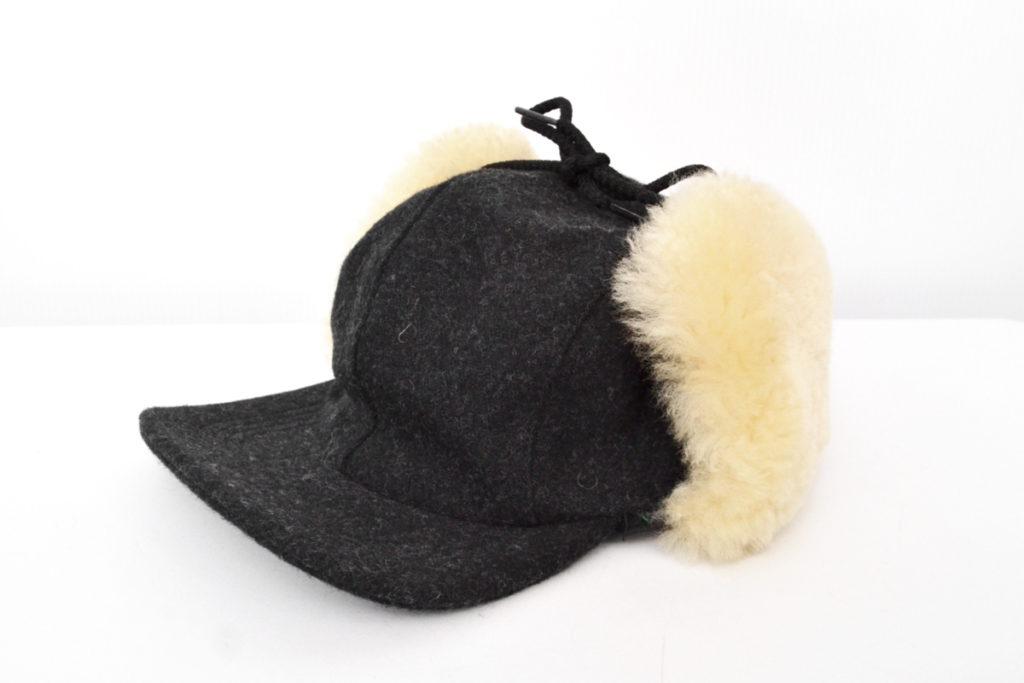 Double Mackinaw Cap ダブルマッキーノ シープファー キャップ帽子