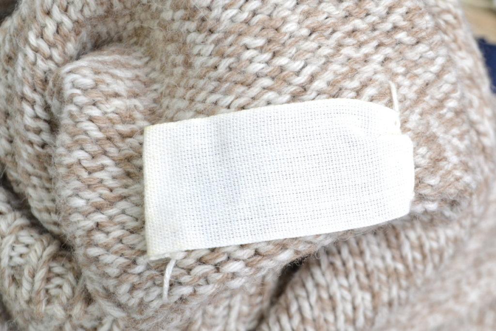2000AW MISS DEANNA/肉厚ニット タートルネックセーターの買取実績画像