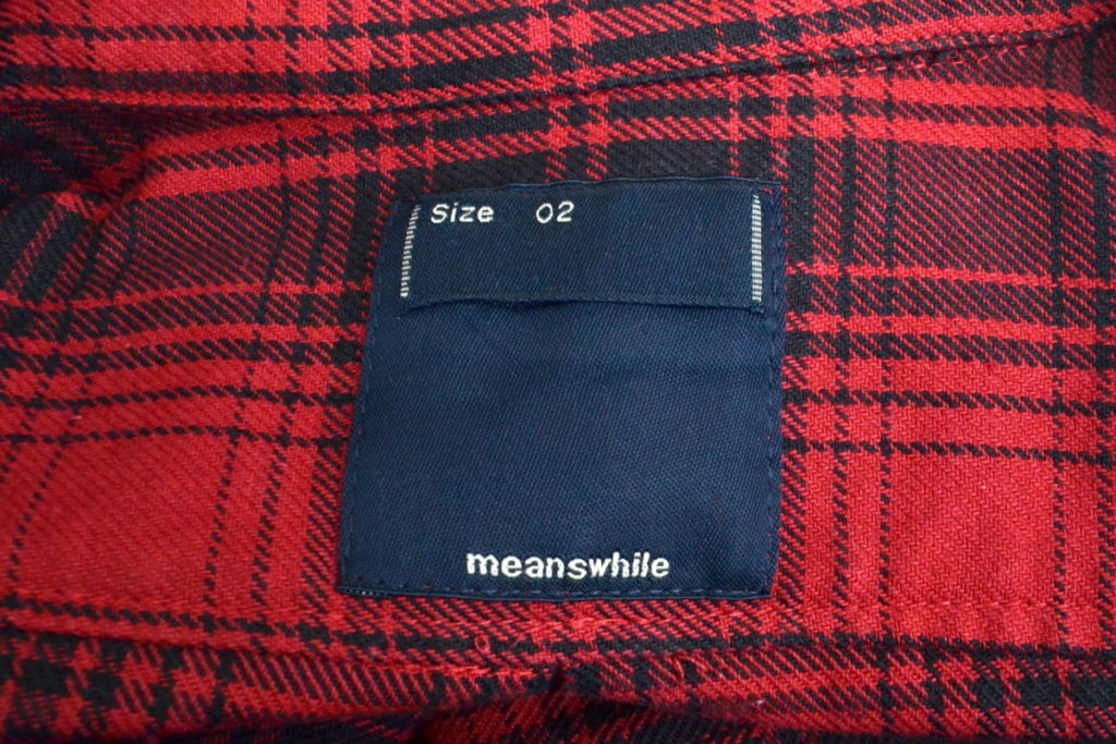 2018AW/ Flannel Check Shirt Jacket フランネル チェック シャツ ジャケットの買取実績画像