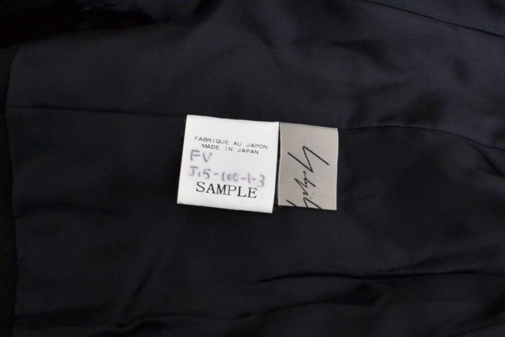 2018AW/ウールギャバ ピークドラペル 変形ジャケットの買取実績画像