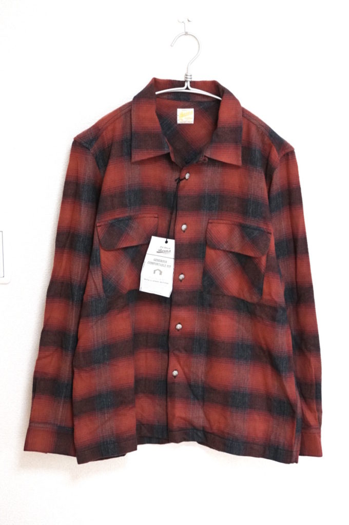 Concho Button 50's SHIRT コンチョボタン チェックシャツ