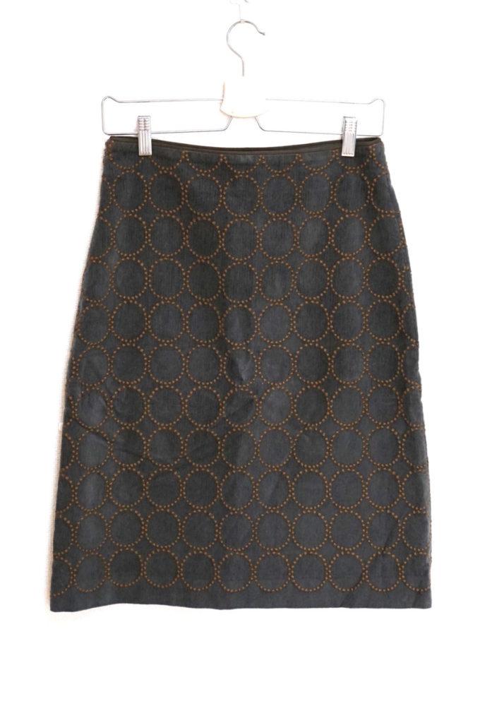 2015AW/ tambourine タンバリン コットンウール 刺繍 スカートの買取実績画像