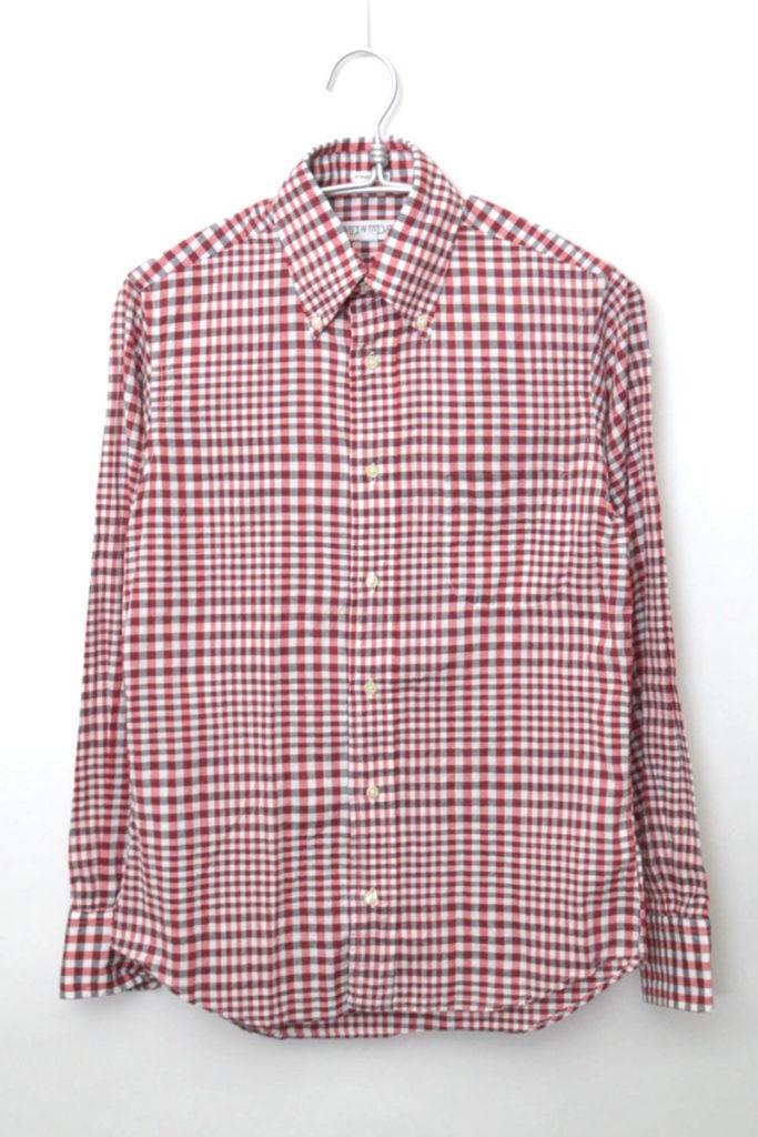 STANDARD FIT ギンガムチェックBDシャツ