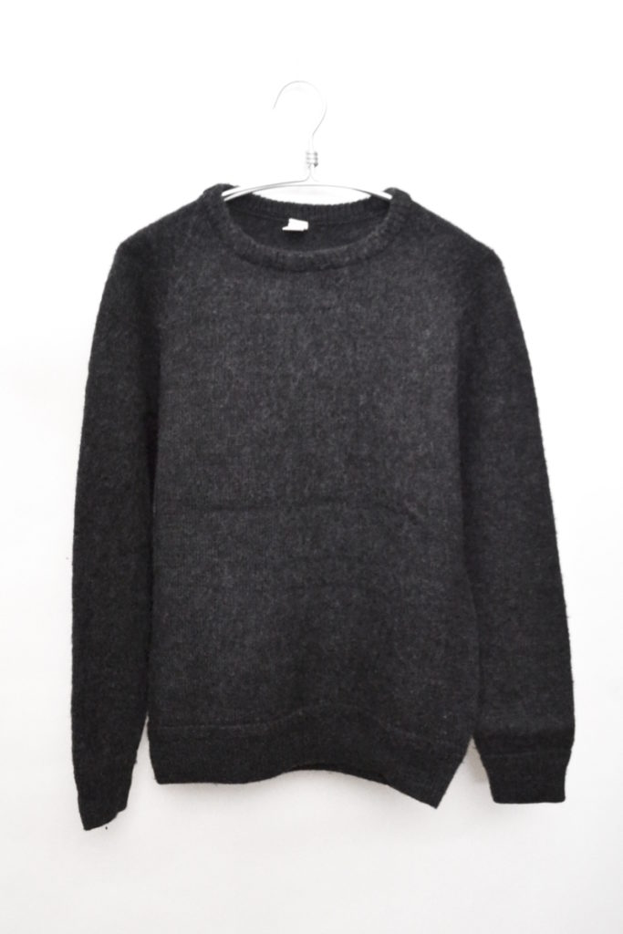 2015AW/SKU Shaker Ragg Sweater 起毛ニットセーター