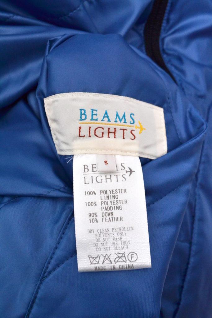 BEAMS LIGHTS/リバーシブル ダウンジャケットの買取実績画像
