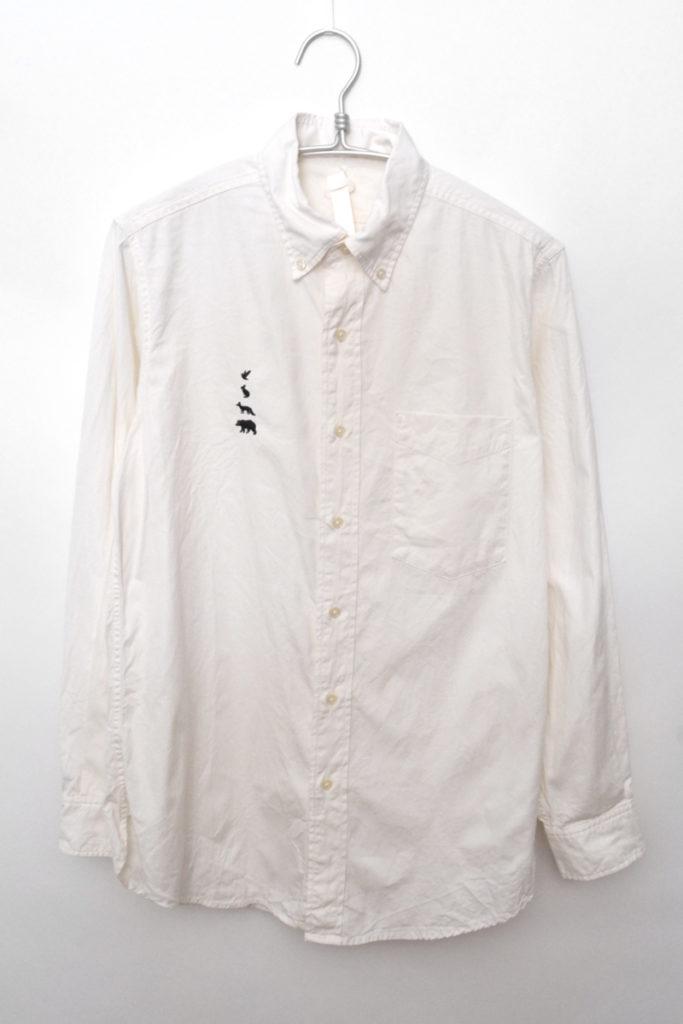 2015ss/B.D 動物刺繍 オックスフォードBDシャツ