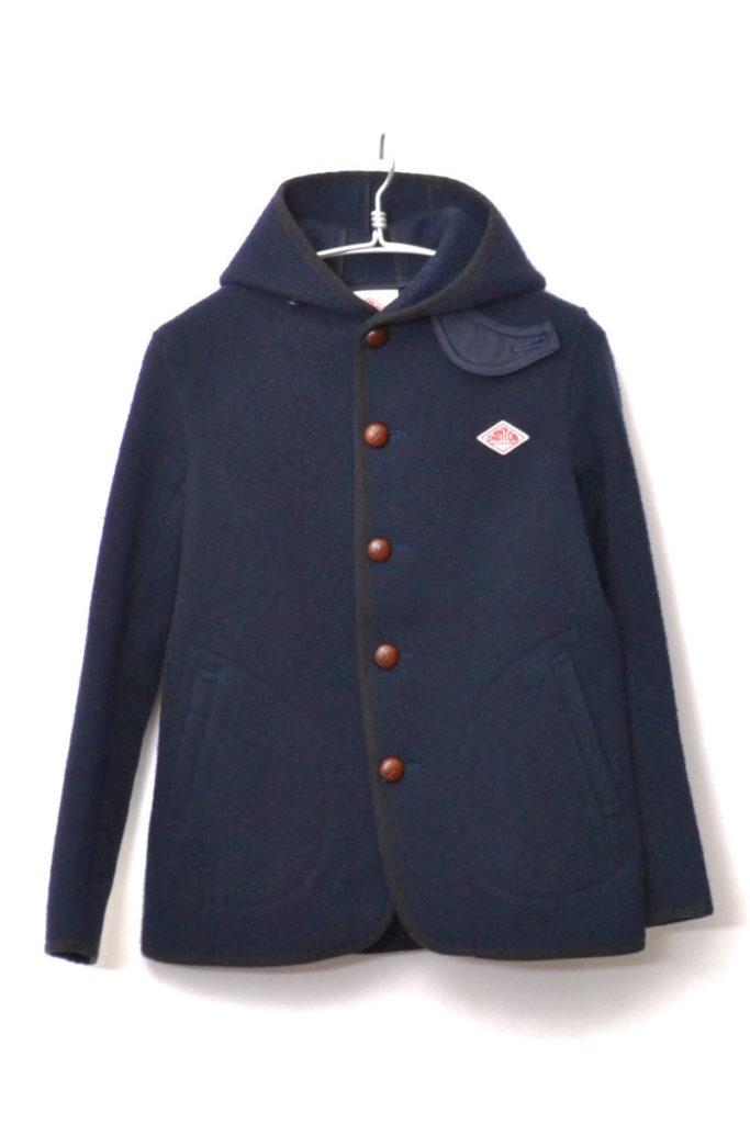 ウールモッサフーデッドジャケットの買取実績画像