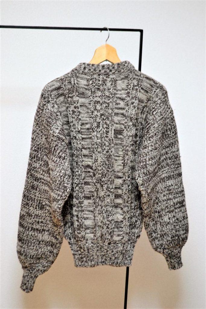 畦編み ローゲージニット セーターの買取実績画像