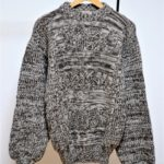 畦編み ローゲージニット セーター