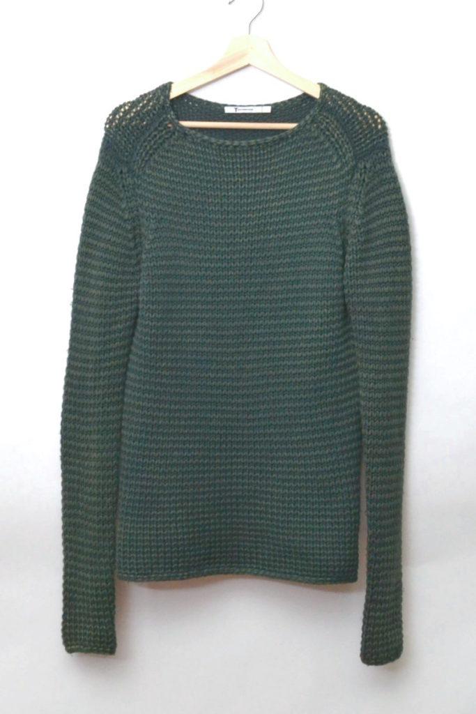 ローゲージニットセーター