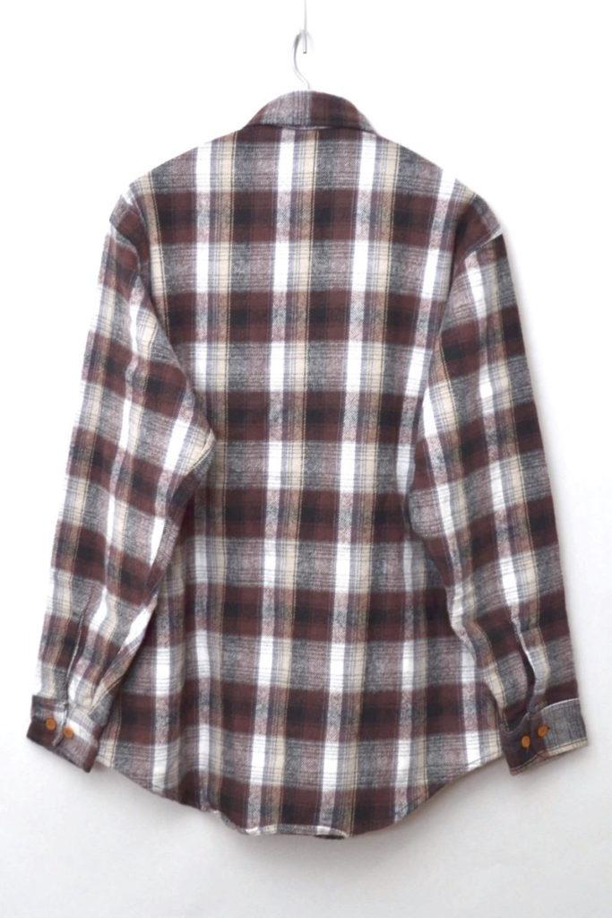 80s ヴィンテージ ヘビーネルシャツの買取実績画像