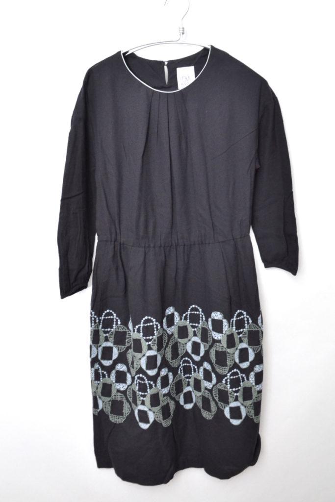 laundry/veronica ヴェロニカ ドレス コットン刺繍 ワンピース