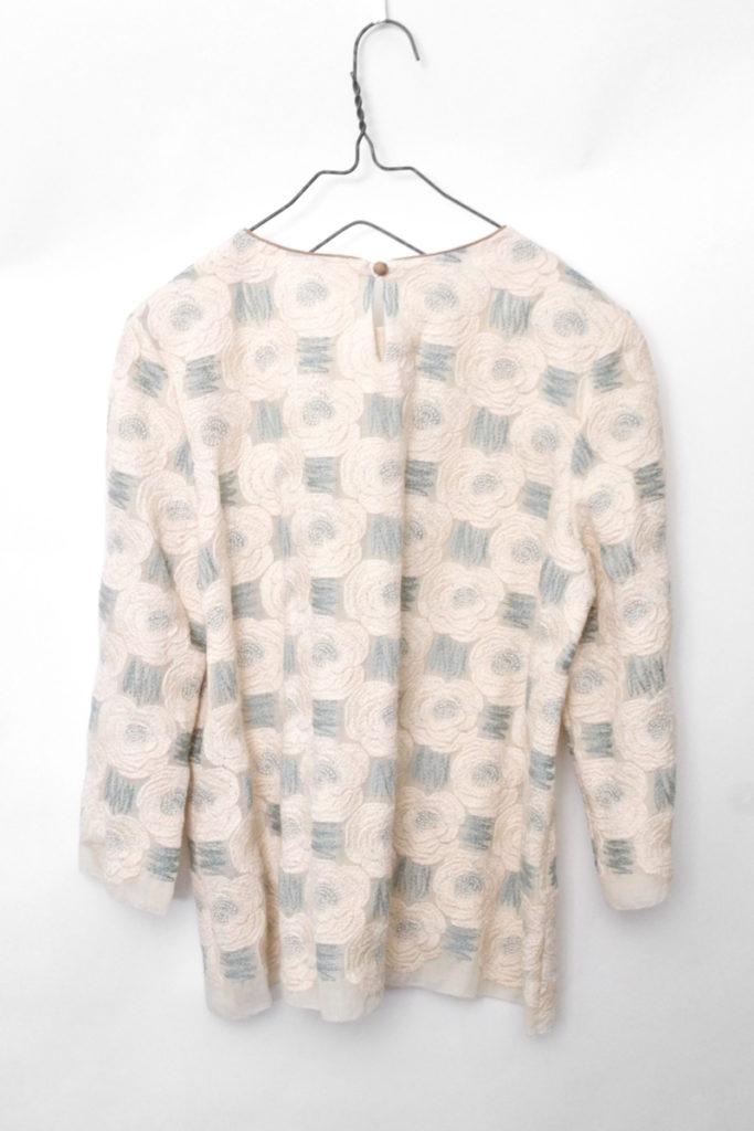 2015aw/Rosas ウール 刺繍 ブラウスの買取実績画像