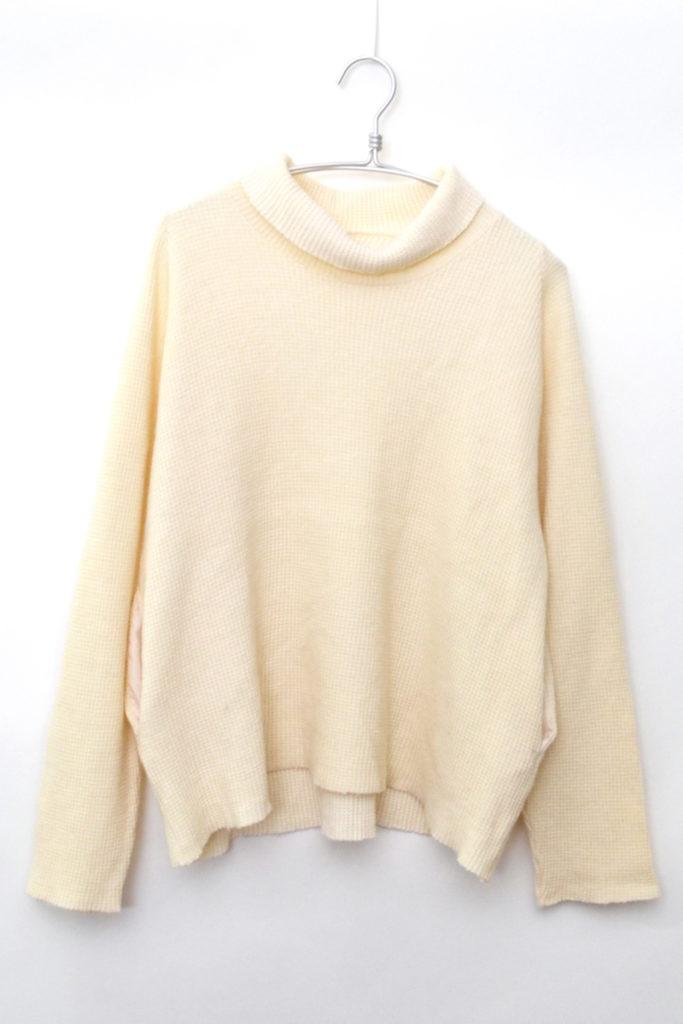 2014AW/ Anderson Sweater アンダーソンセーター ワッフルタートルネックニットの買取実績画像