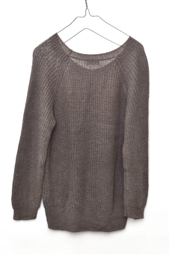 2016/ コットン リネン 畦編み ニット セーターの買取実績画像