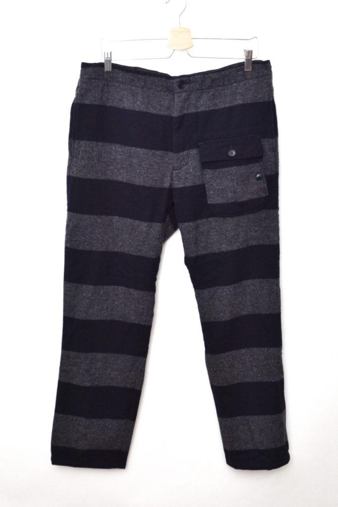 WOOLRICHファブリック/Lafayette Pant-Wide Stripe ウールボーダーパンツ