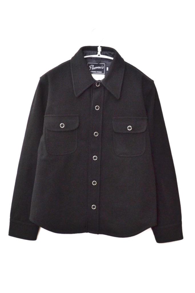P.CPO ウールCPOシャツジャケット