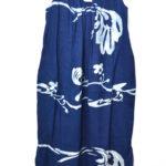 二重織のumiiロハドレス「インディゴ」 ノースリーブワンピース