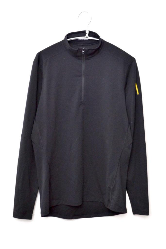 PHASE AR ZIP NECK LS フェイズAR ジップネックシャツ カットソー